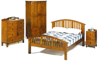 Reclaimed Pine Curve Set
